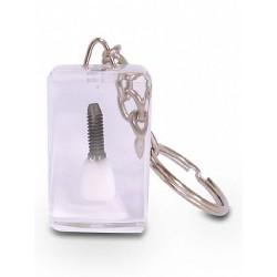 Chaveiro de dente - Dente com Implante
